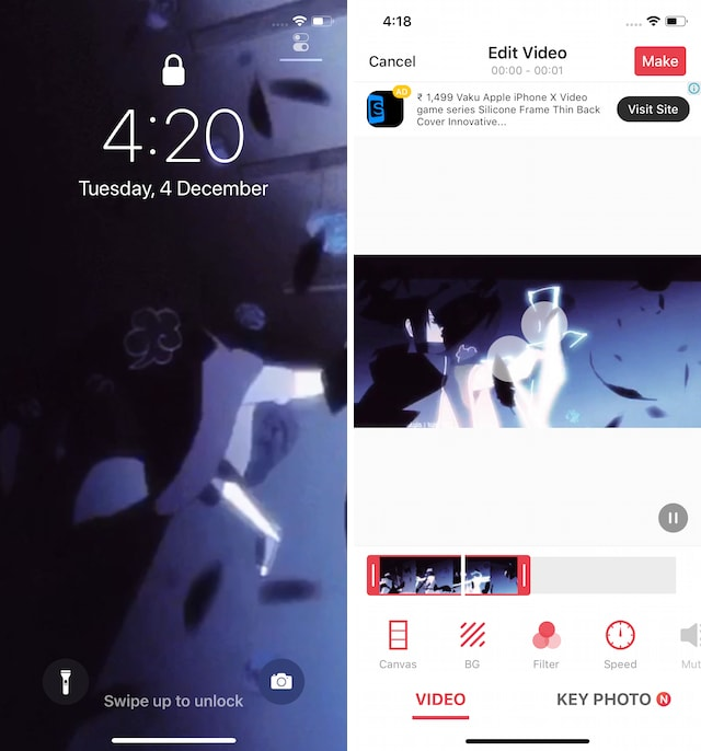 live wallpaper apps for iphone