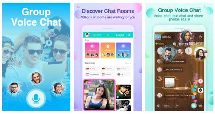 yalla- audio based social media app