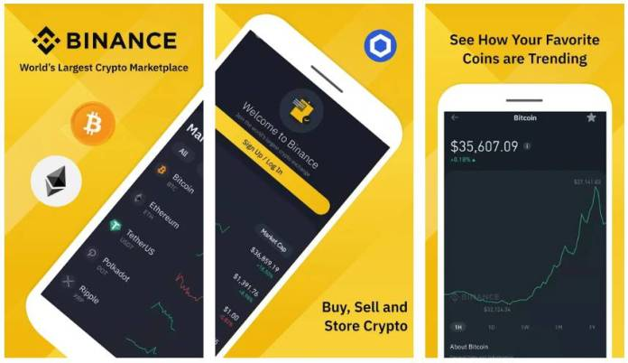 Binance Bitcoin Marketplace and Crypto Wallet