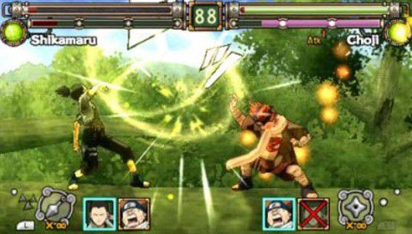 Naruto Ninja Heroes PPSSPP ISO
