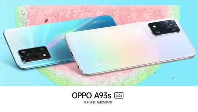 OPPO A93s 5G