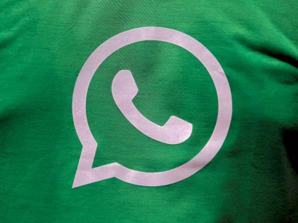 WhatsApp online messaging application logo