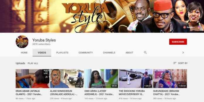 Yoruba Styles - Yoruba Movie YouTube Channel