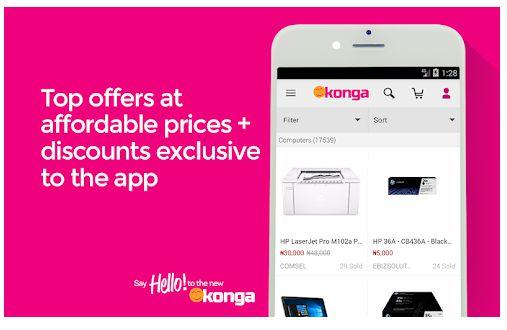 online shopping apps in Nigeria