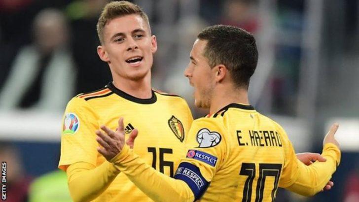 Euro Hazard Belgium Russia