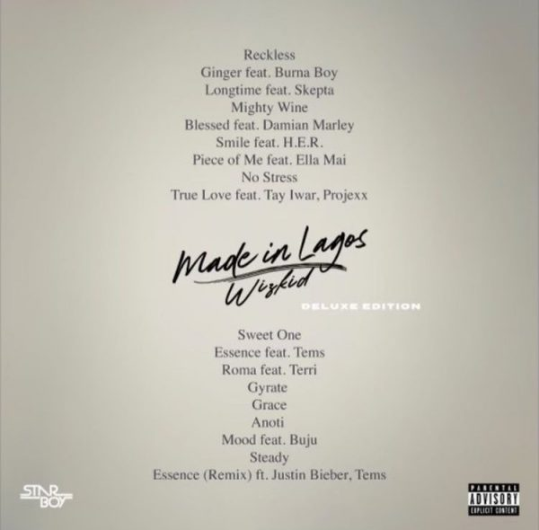 made in lagos tracklist deluxe tgj 600x590 1