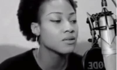 Girl Singing Runtown