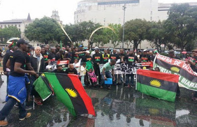 pro Biafran agitators