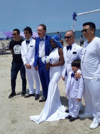 Oniru beach wedding 1