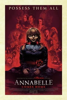 """77-year-old man dies in cinema while watching horror movie """"Annabelle Comes Home"""""""