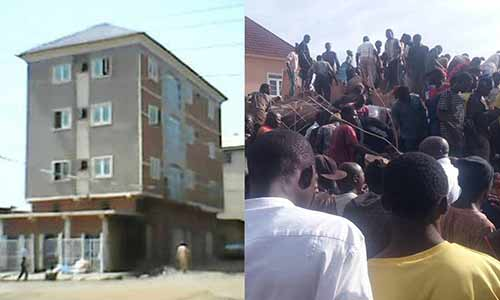 Many Feared Dead, Others Injured as Two-Storey Building Collapses in Jos