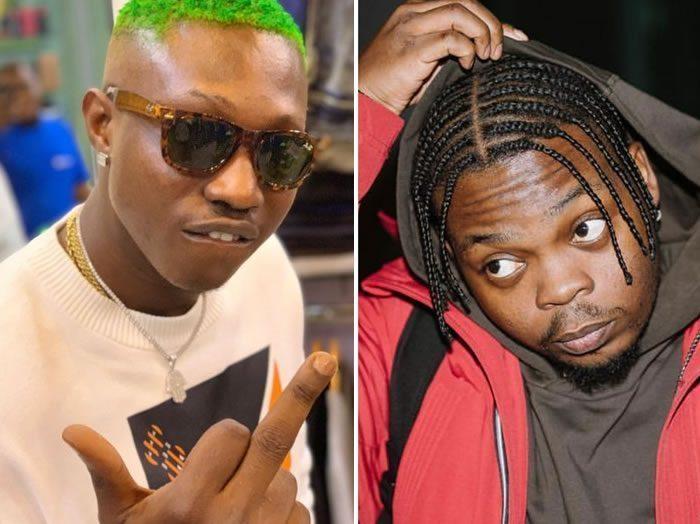 Zlatan Shares Screenshot Of Messages He Sent Olamide In 2016