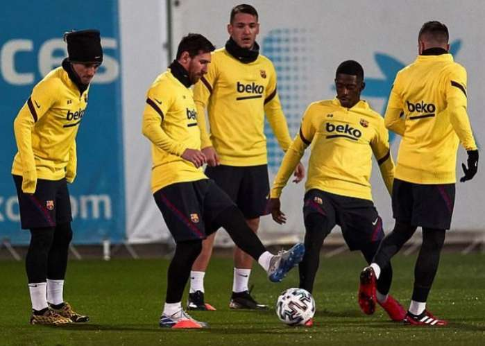 Lionel Messi Set to undergo COVID-19 Test Before Resuming Training.