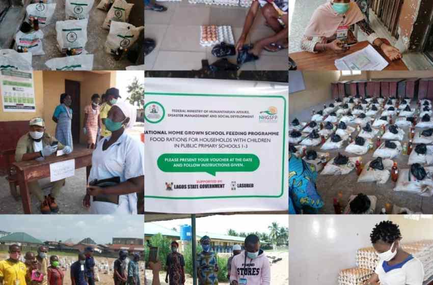 NATIONAL YOUTH COUNCIL IBEJU-LEKKI,GIVES REPORT ON HOME GROWN SCHOOL FEEDING PROGRAM IN LEKKI BY Comrade Ramoni Fatai Adesina