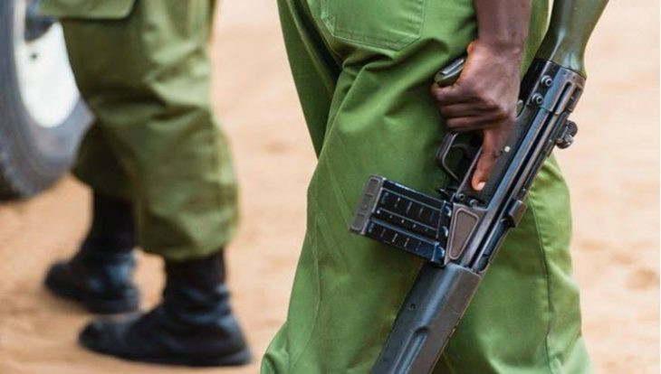 Just in;Policewoman shoots her husband for not picking her calls.