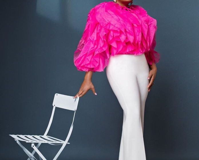 Funke Akindele-Bello celebrates birthday with beautiful photos And New Body Shape[Photos]