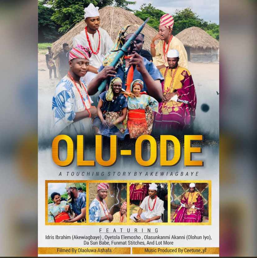 [Movie] OLUODE BY OLAMILEKAN AKEWIAGBAYE FT OYETOLA ELEMOSHO