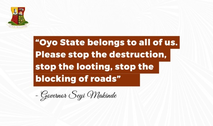Seyi Makinde Addresses Hoodlums Attack In Oyo State