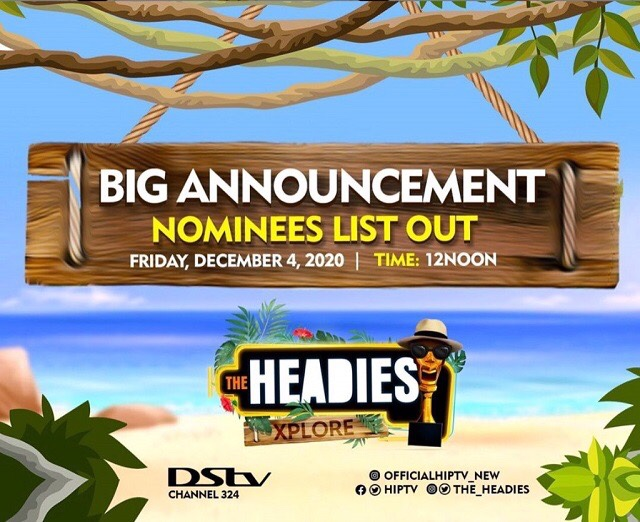See Full Headies Award 2020 Nomination List