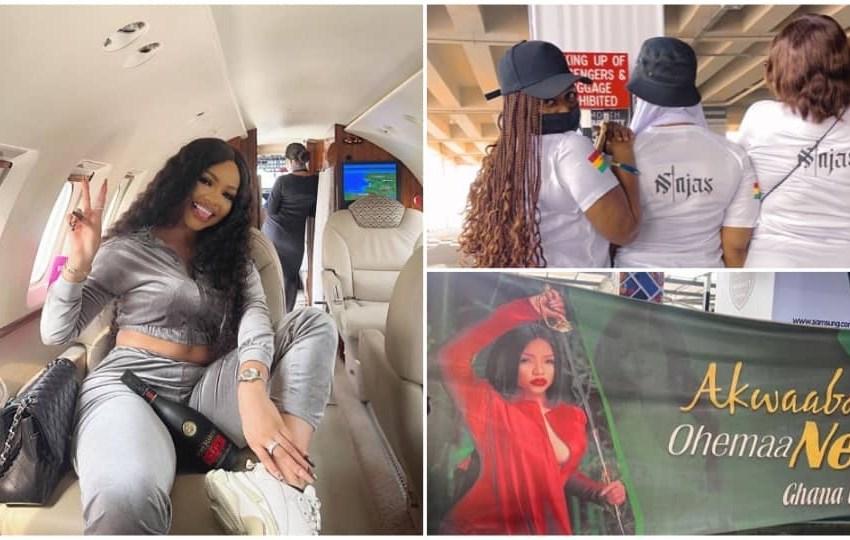 BBNaija's Nengi given royal welcome as she arrives in Ghana(Photos)