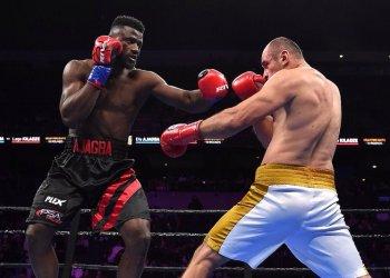 Check out Nigerian Boxer making Waves like Anthony Joshua
