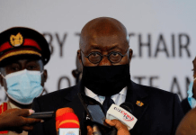 Ghanaian lawmakers exchange blows during the dissolution of the seventh parliament