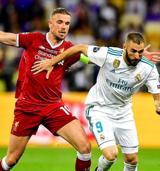 Watch Live UEFA Champions league clash between 'Real Madrid vs Liverpool'