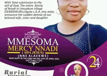 Family Releases Obituary Of 'Ada Jesus' (Photos)