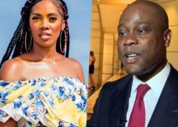 E DON RED! Tiwa Savage Allegedly Having Affairs with Access Bank CEO
