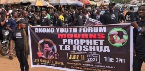 Bring TB. Joshua's Body Home For Burial, Ondo Youth Tells Family