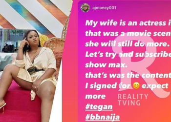 MAD OH! Tega's Husband Reacts to Saga S*cking her N!pples During the Date game