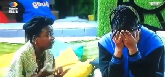 VIDEO: BBNaija Arin Tries to Calm Angel down as Angel explains reasons for her tears