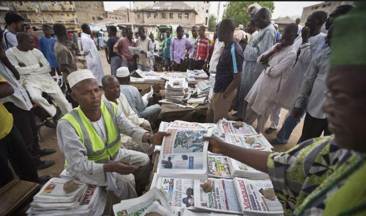 Nigeria Newspaper Headline