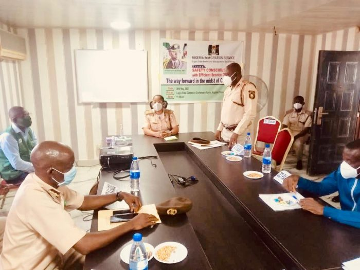 Immigration service trains Officers on quality service delivery