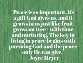 Joyce Meyer Daily Devotional For 13 January 2018