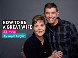Joyce Meyer Marriage Advice