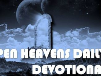 Open Heavens Daily Devotional For 6th October