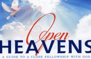 Open Heavens Daily Devotional Today 13th October