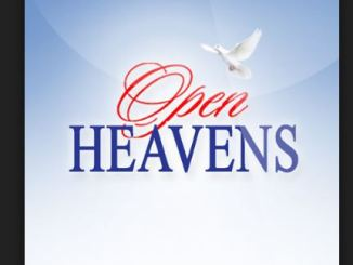Open Heavens Daily Devotional Today 13th November