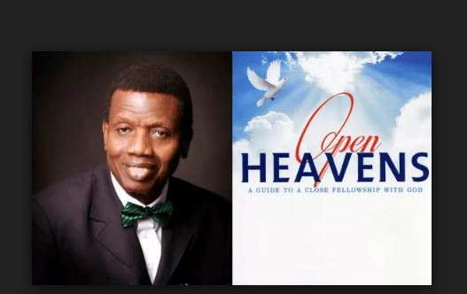 Open Heavens Daily Devotional Today 22nd November