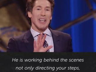 Joel Osteen Daily Devotional Today 21st November