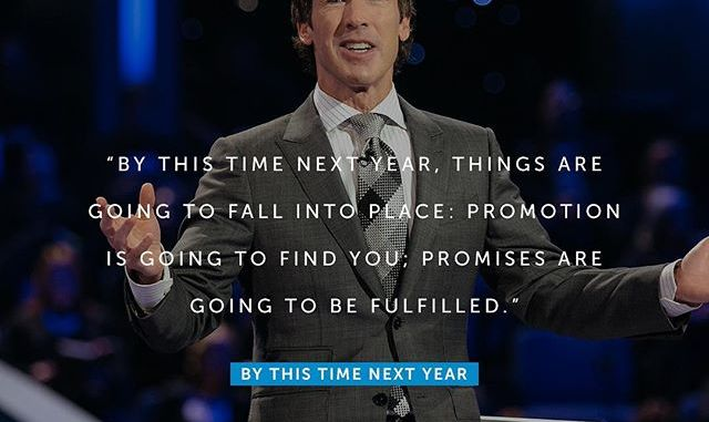 Joel Osteen Daily Devotional Today 8th November