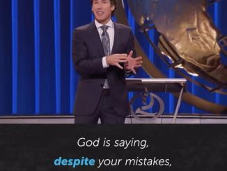 Joel Osteen Devotional Today 18th December