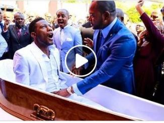 Alph Lukau Brings Dead Man Back To Life