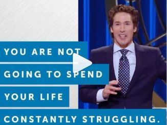 Joel Osteen Devotional 27 February