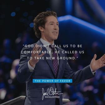 Joel Osteen Devotional 16th May