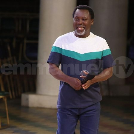 Say This Prayer With Prophet T.B Joshua Now