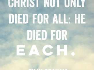 Billy Graham Devotional 29 July 2019