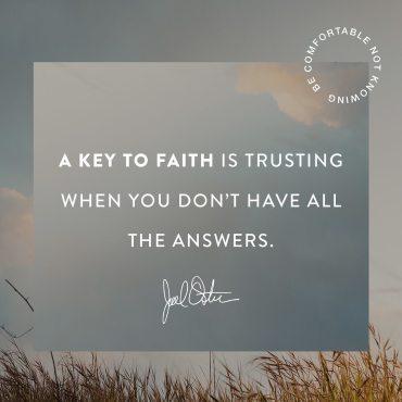 Joel Osteen Devotional 6 August 2019