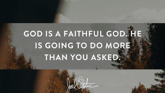 Joel Osteen Devotional 14 August 2019